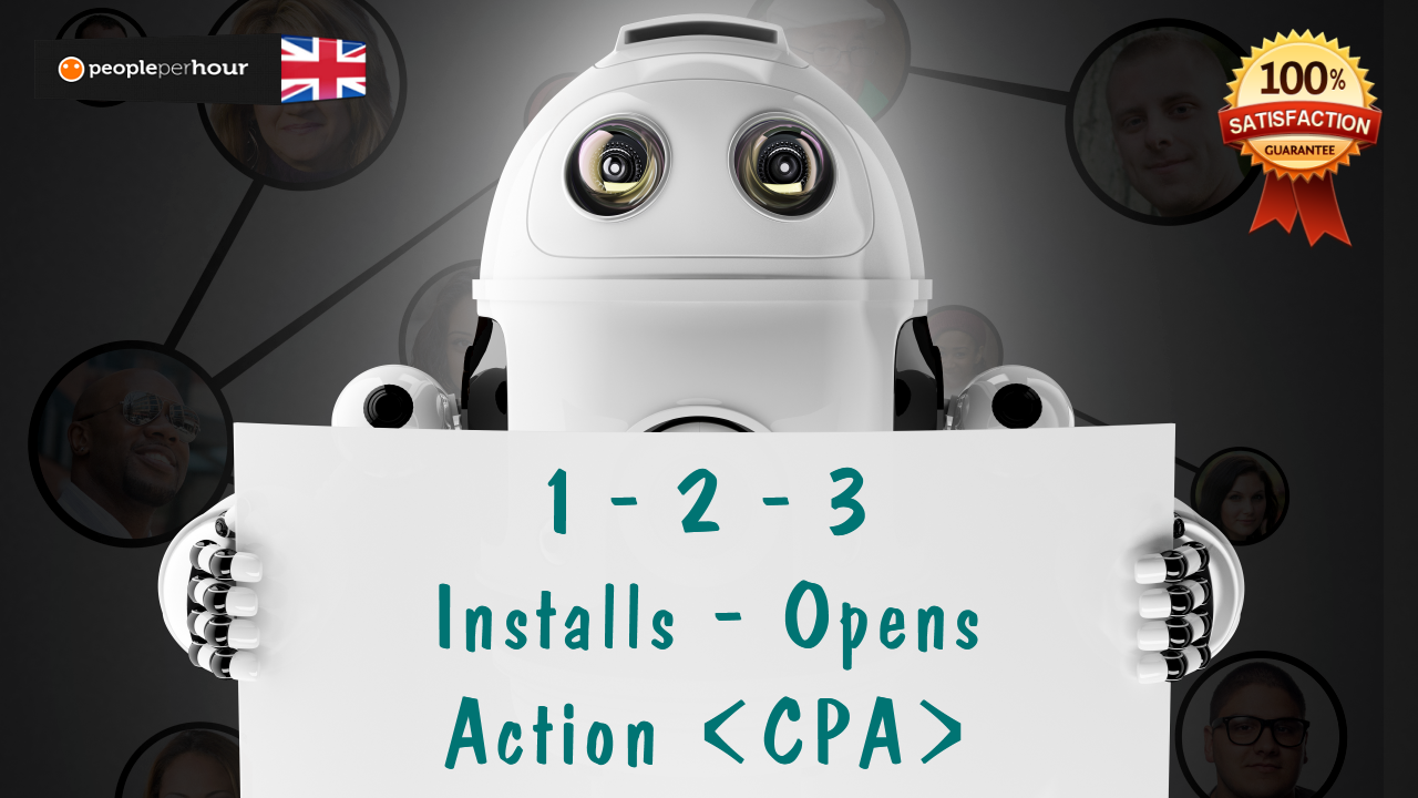 Offer you upto 1000 Real CPA Android app installs