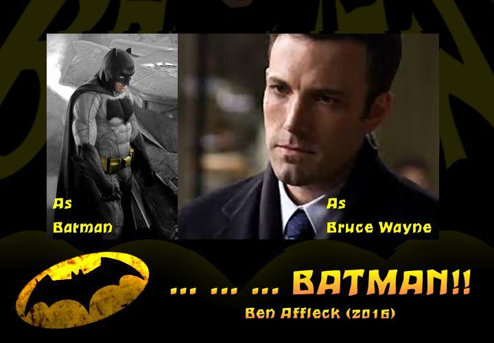 Batman and Bruce wayne