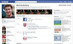 Facebook Layout GUI