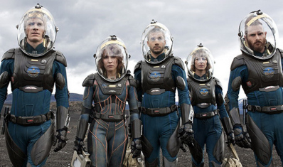 Prometheus 2012 movie cast