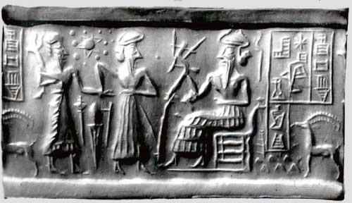 Sumerians believed earth was round