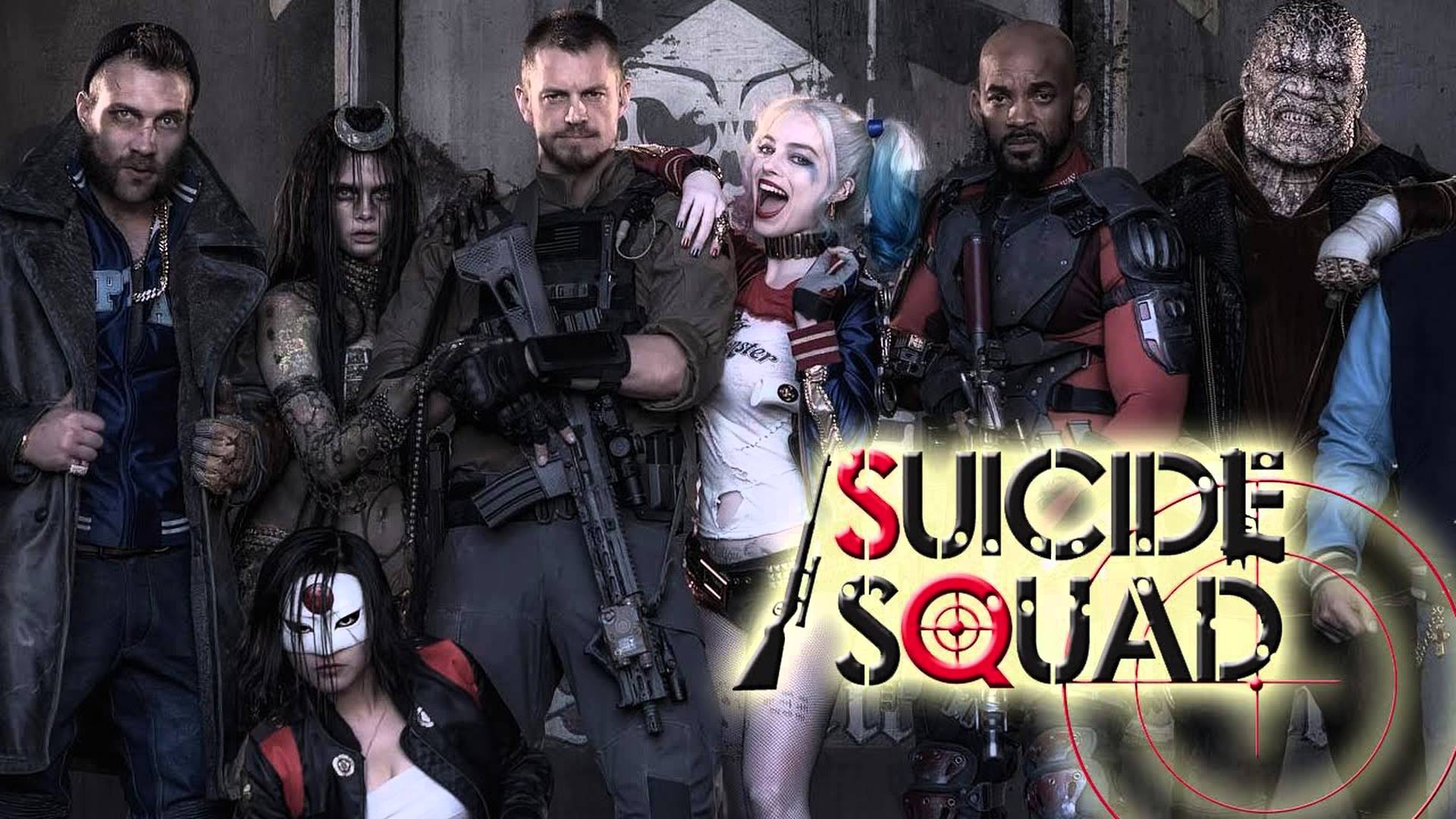 Suicide Squad Movie Trailer News Cast