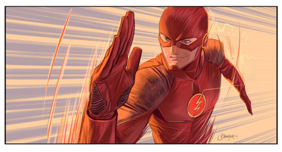 The Flash Artwork