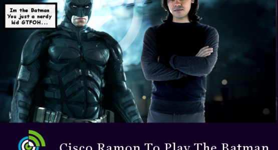 Cisco Ramon To Play Batman and Thomas Wayne in Flash Season 3