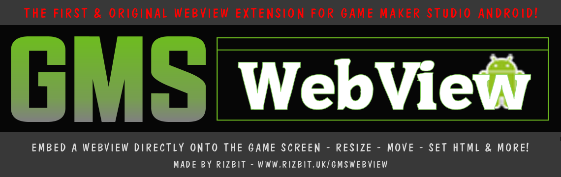 GMSWebView Android Extension