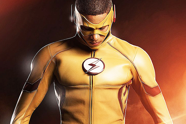 Wally West as Kid Flash
