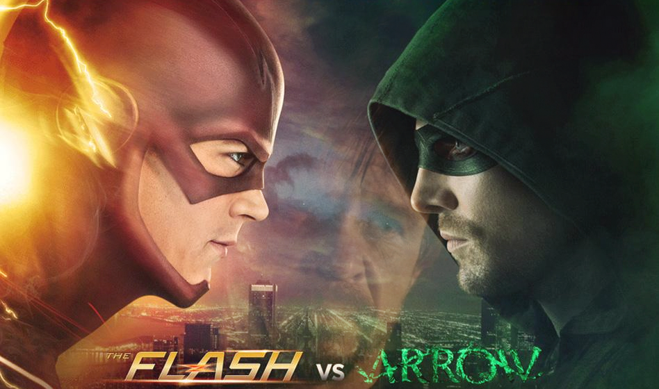 The Flash Arrow Season 3 Crossover