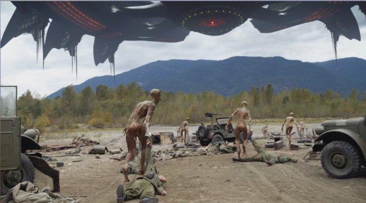 aliens invasion flash