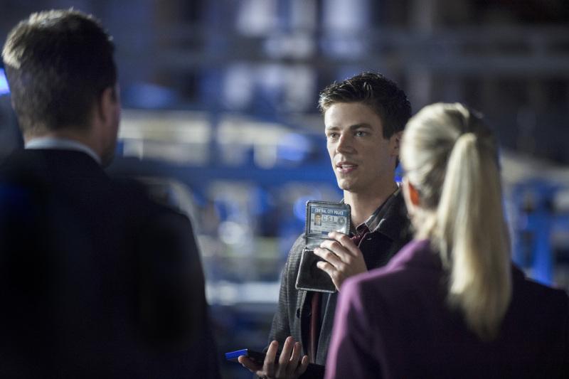 Hi My Name is Barry Allen...Im a fan of the Arrow
