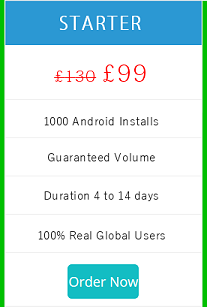 buy real app installs for android