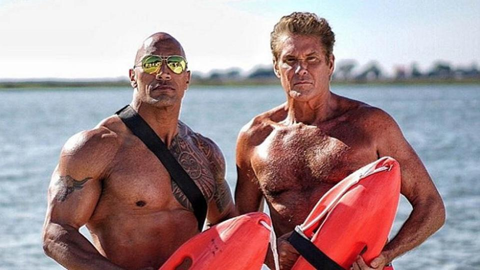 david the rock baywatch