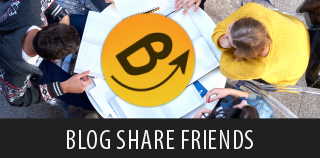 blog share friends mobile app for bloggers