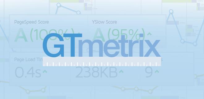 gtmetrix test page load speed