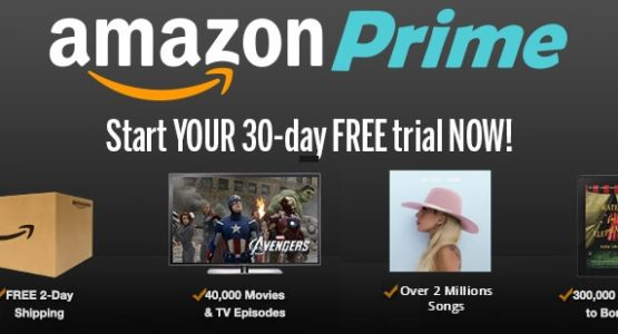 Amazon Prime 30 days free trial