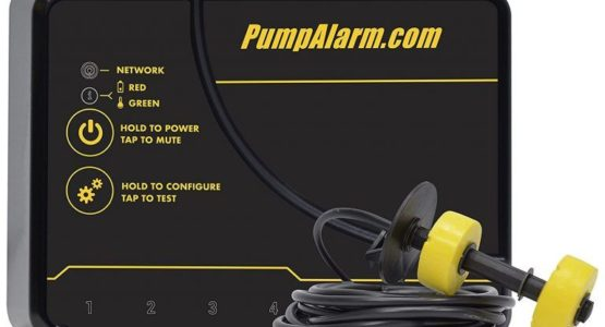 sump pump alarms