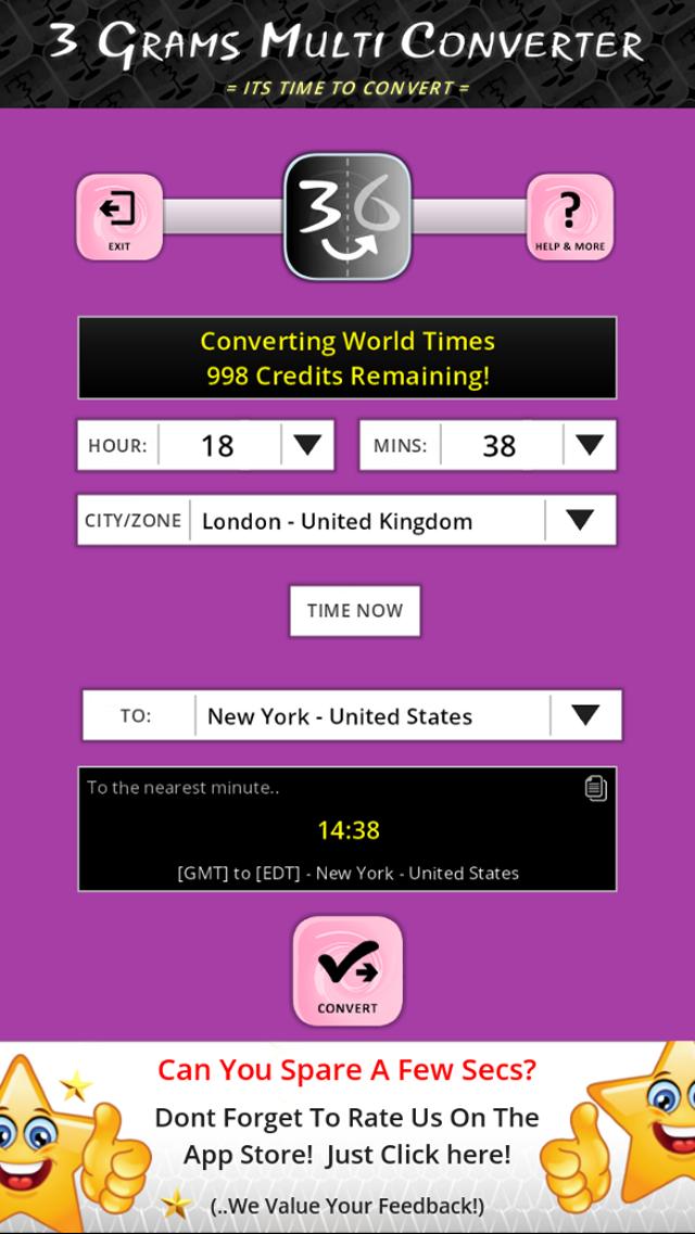 convert world times