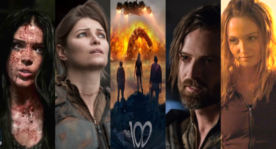 the 100 season 5 and 6 tv show