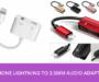 iphone lightning headphone airpods spllitter adapter