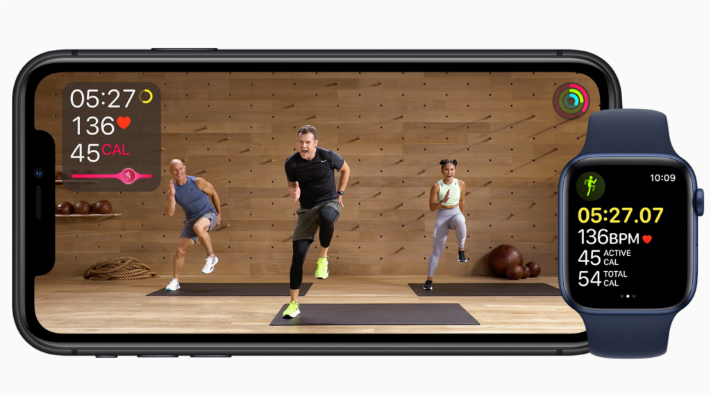 apple time flies event 2020 fitness