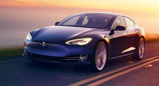 tesla electric car 2020