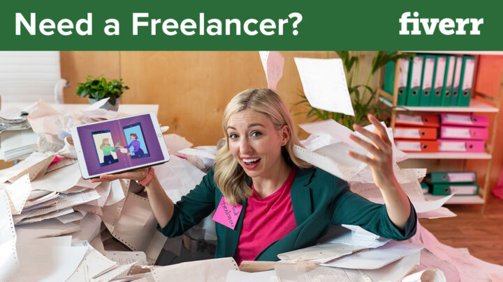 hire freelancers on fiverr for your business