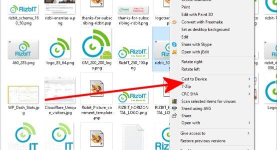 slow windows context menu fix